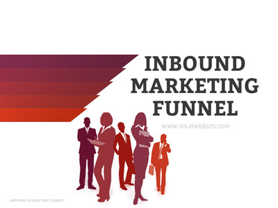 ID# 19447 - Inbound Marketing Funnel - PowerPoint Template
