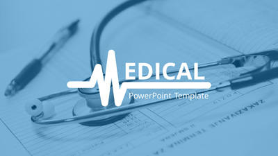 medical infographic - a powerpoint template from presentermedia, Modern powerpoint