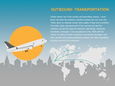 supply chain logistics - a powerpoint template from presentermedia, Powerpoint templates