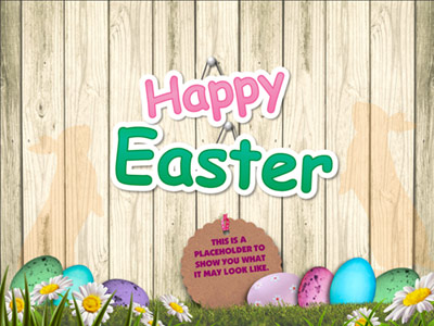 Easter Bunny With Giant Egg - Hd Video Backgrounds - Video