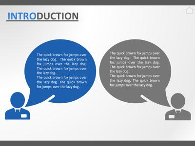 a business deal - a powerpoint template from presentermedia, Powerpoint templates