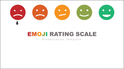 ID# 20264 - Face Emoji Rating Toolkit - PowerPoint Template