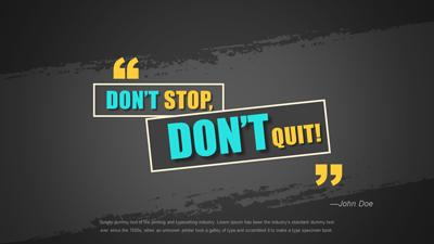 Fitness quote a powerpoint template from presentermedia home powerpoint templates toneelgroepblik Choice Image