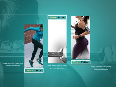 Fitness Quote A Powerpoint Template From Presentermedia