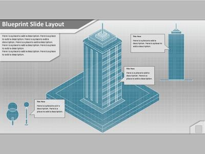 Office Building Assemble  A Powerpoint Template From