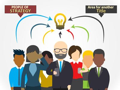 People Of Strategy PowerPoint Template