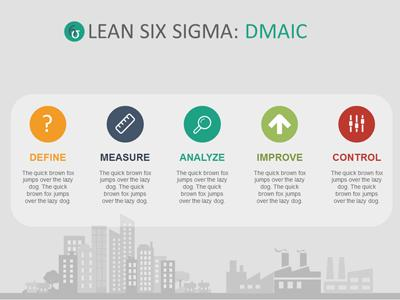 sigma six - a powerpoint template from presentermedia, Powerpoint templates