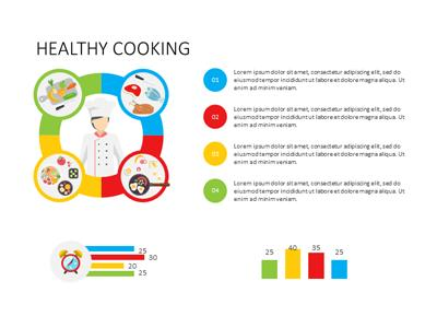Healthy living a powerpoint template from presentermedia toneelgroepblik Image collections
