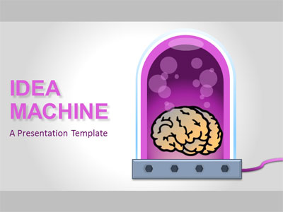 ID# 21309 - Idea Machine - PowerPoint Template