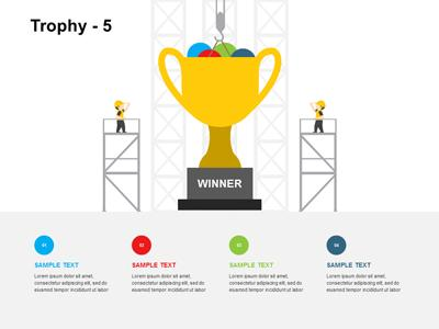 trophy toolkit a powerpoint template from presentermedia com