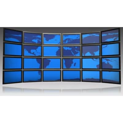 ID# 6135 - World Screen Map Scrolling - Video Background