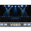 ID# 6183 - Light Show Stage - Video Background