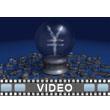 Crystal Ball Yen PowerPoint Video Background