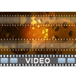Film And Movie Reels PowerPoint Video Background