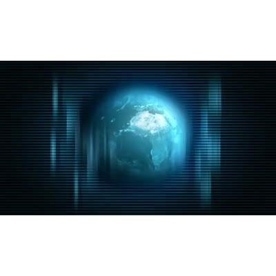 ID# 6202 - Digital World Revolving - Video Background