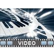 ID# 6391 - Piano Keys - Video Background