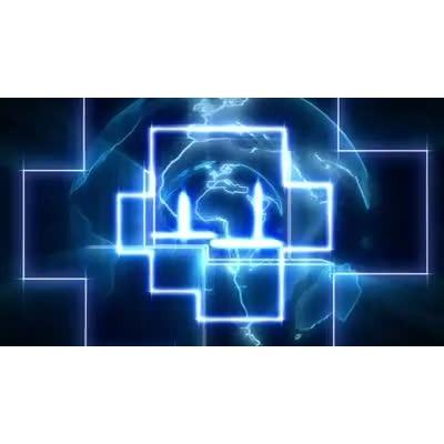 ID# 6571 - Earth Geometry - Video Background