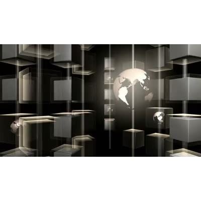 ID# 7078 - Box World - Video Background