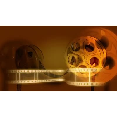 ID# 7079 - Movie Reels - Video Background