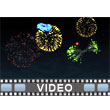 Fireworks Celebration PowerPoint Video Background