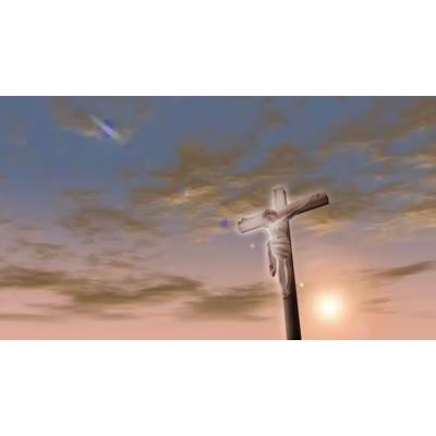 ID# 7167 - Jesus Cross - Video Background