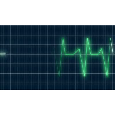ID# 7195 - Heart Monitor - Video Background