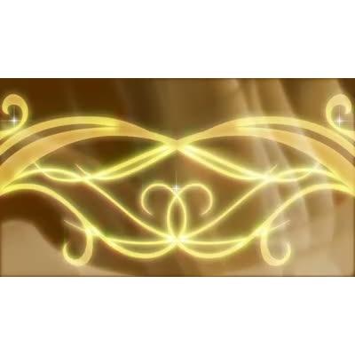 ID# 7830 - Golden Swirl - Video Background