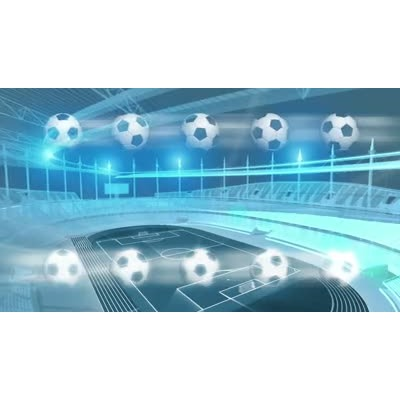 ID# 8198 - Soccer Stadium - Video Background