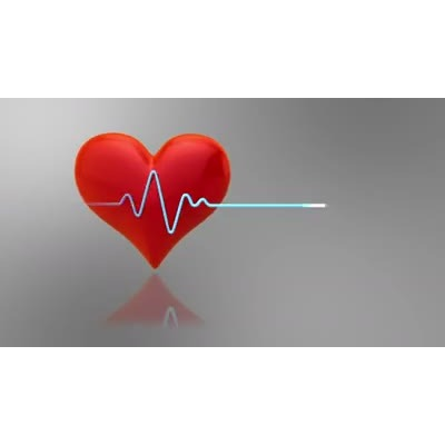 ID# 8480 - Heart Cardiogram - Video Background