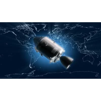 ID# 8749 -  Satellite  - Video Background