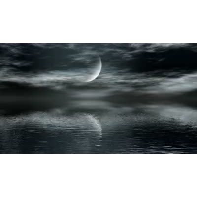 ID# 8763 - Moon Reflect - Video Background