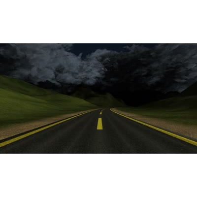 ID# 8889 - Stormy Road Ahead - Video Background