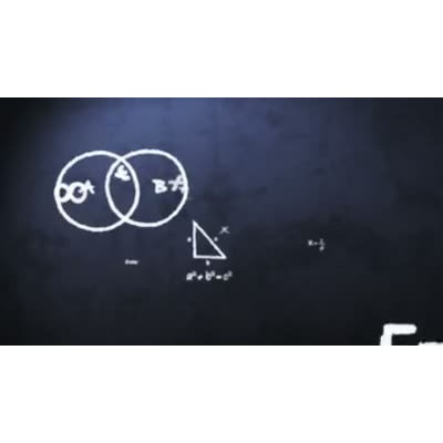 ID# 9019 - Math Concepts - Video Background