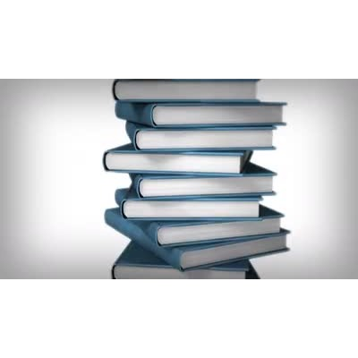 ID# 9057 - Book Stack - Video Background