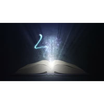 ID# 9071 - Reading Magic - Video Background