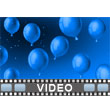 Balloons And Confetti PowerPoint Video Background