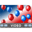 ID# 9431 - Political Balloons - Video Background