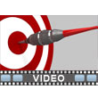 Hit Target PowerPoint Video Background