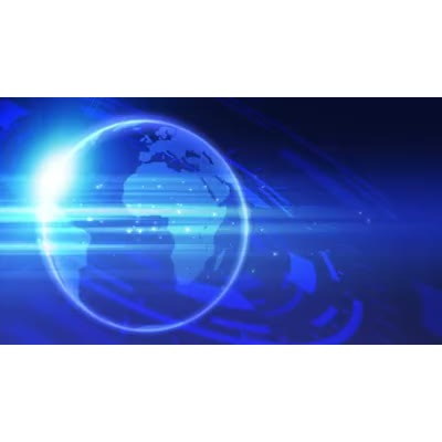 ID# 9528 - Broadcast Globe - Video Background