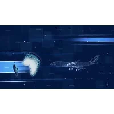 ID# 9639 - World Travel - Video Background