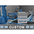 Automated Factory Text PowerPoint Video Background