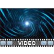 Blue Spiral PowerPoint Video Background