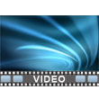 ID# 9786 - Blue Streaks - Video Background