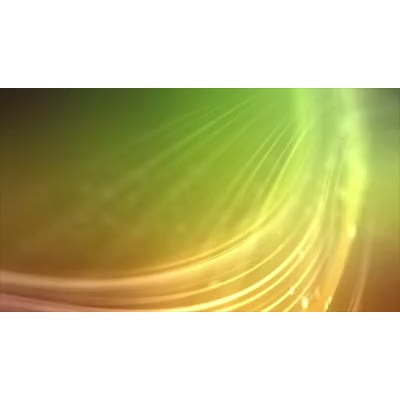 ID# 9799 - Green Particle Streak - Video Background