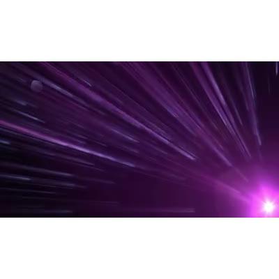 ID# 9813 - Purple Glow - Video Background