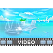 Beach Vacation PowerPoint Video Background