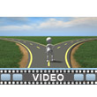Crossroads Decision PowerPoint Video Background