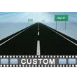 Road Signs PowerPoint Video Background