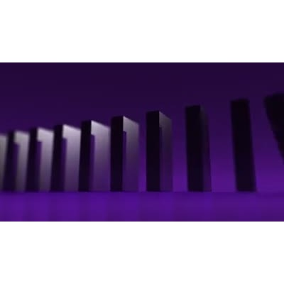ID# 10135 - Domino Effect - Video Background