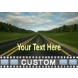 Road Trip Text Video Background